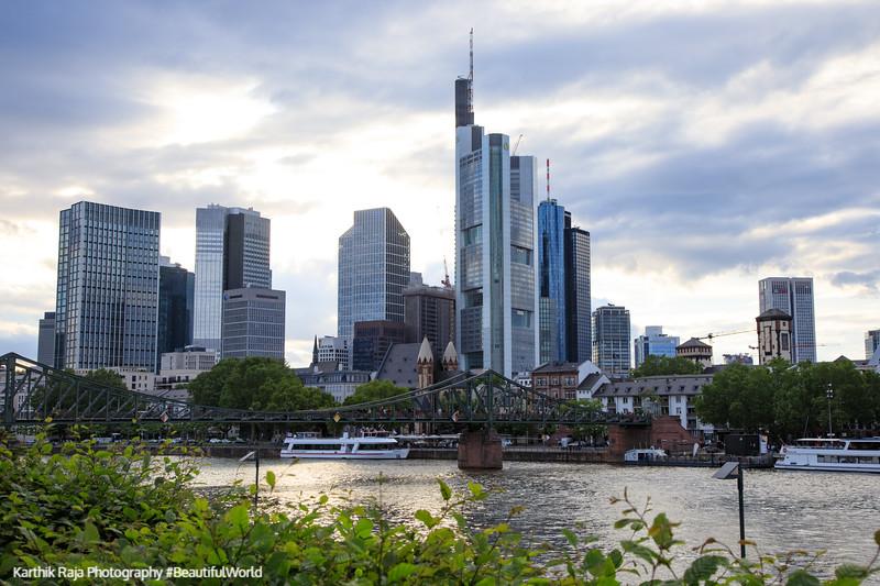 Skyline, Frankfurt, Germany