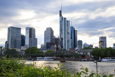 Skyline, Frankfurt, Germany