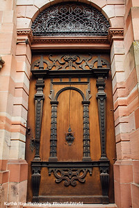 Door, Heidelberg castle, Germany
