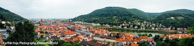 Panorama, Heidelberg, Germany
