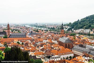 Church of the Holy Spirit, and Jesuitenkirche, Heidelberg, Germany