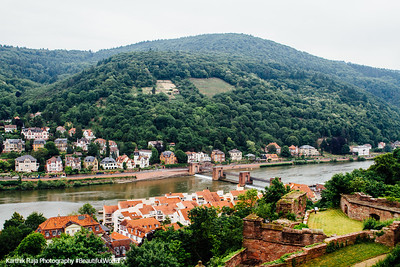 Staustufe Heidelberg across the Neckar, Heidelberg, Germany