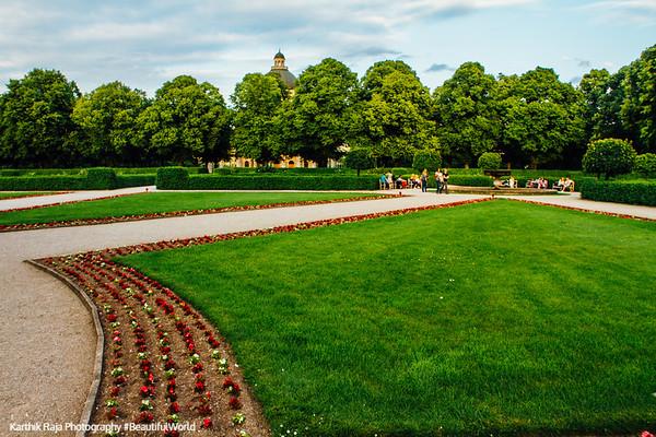 Hofgarten, Munich, Bavaria, Germany