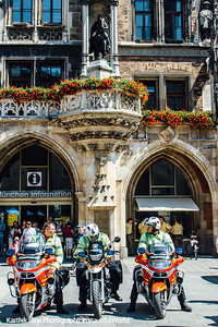 Bikers, Munich, Bavaria, Germany