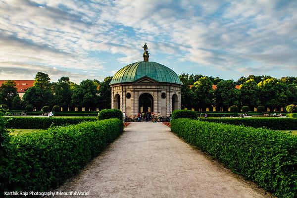Diana Pavilion, Hofgarten, Munich, Bavaria, Germany