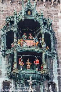 Rathaus-Glockenspiel, Munich, Bavaria, Germany
