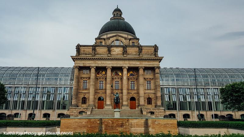 Bavarian State Chancellery, Munich, Bavaria, Germany