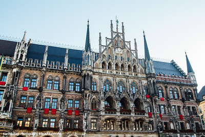 The New Town Hall, Marienplatz, Munich, Bavaria, Germany