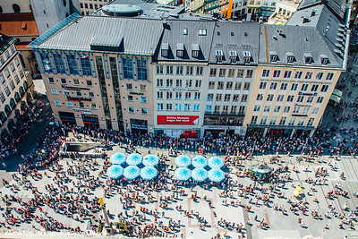Marienplatz, View of Munich, Bavaria, Germany