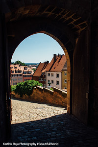 Nuremberg Castle, Nuremberg, Bavaria, Germany