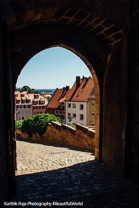 Nuremberg Castle, Nuremberg, Bavaria, Germany