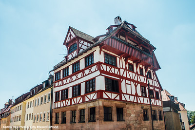 Albrecht-Dürer-Haus, Nuremberg, Bavaria, Germany