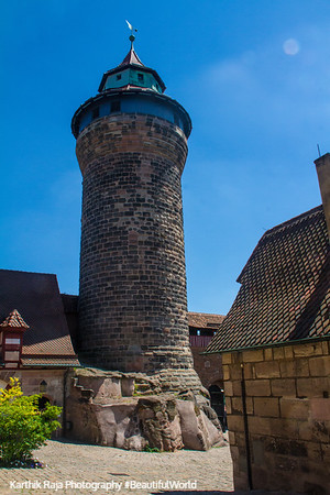 Sinnwell Tower, Nuremberg Castle, Nuremberg, Bavaria, Germany