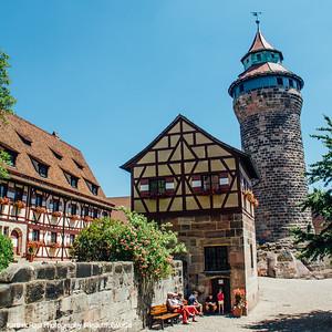Tiefer Brunnen, Nuremberg Castle, Nuremberg, Bavaria, Germany