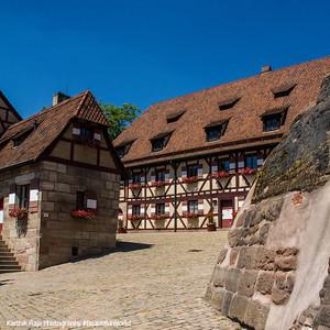 Kaiserkapelle (Emperor's Chapel), Nuremberg Castle, Nuremberg, Bavaria, Germany