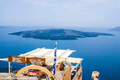 Palea Kameni, Island in the Caldera, Santorini, Greece