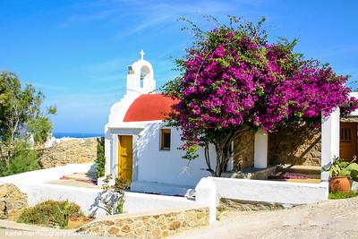 Church, Mikonos