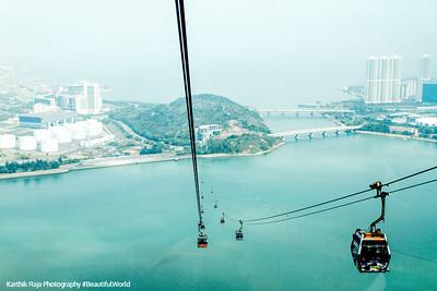 Ngong Ping 360, cable car, Hong Kong