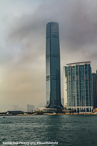 International Commerce Centre is the tallest building in Hong Kong
