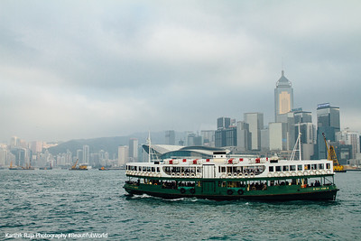 Star Ferry across Victoria Harbor, Hong Kong