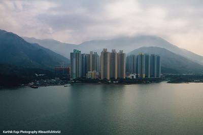 High-rise apartments, Hong Kong