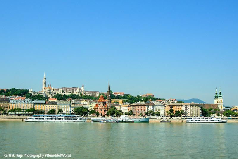 Buda, Danube, Budapest, Hungary