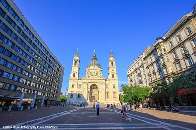 St. Stephen's Basilica, Szent István-bazilika, Budapest, Hungary