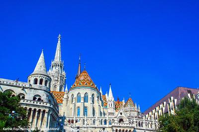 Buda Castle, Matthias Church, Church of our Lady, Budapest, Hungary