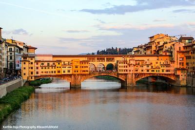 Ponte Vecchio - medieval bridge, Florence, Italy