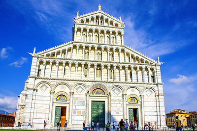 Duomo (the Cathedral), Pisa, Italy