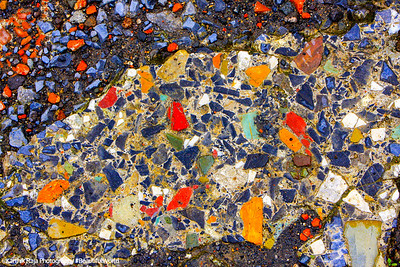 The colors on the floor tiles also still captivate, Pompeii, Italy