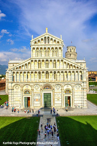 Duomo (the Cathedral) - view from the Baptistry, Pisa, Italy