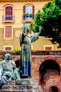 Near the walls of Rome - a prayer to protect Rome