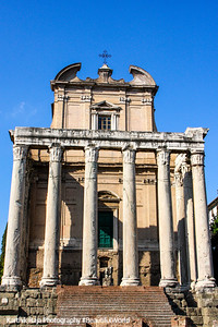 Temple of Antoninus and Faustina, The Roman Forum, Rome, Italy