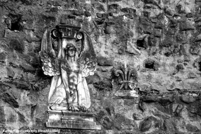 Angels on the Palatine Hill, Rome, Italy