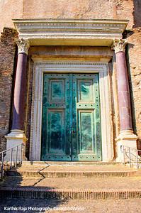Columns more expensive than diamonds, The Roman Forum, Rome, Italy