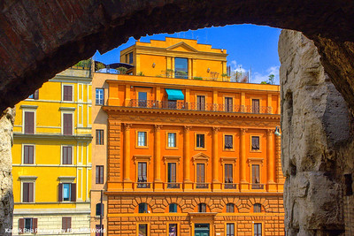 Windows, Rome, Italy