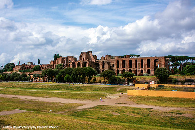 Circus Maximus - the grandest stage for races, Rome, Italy