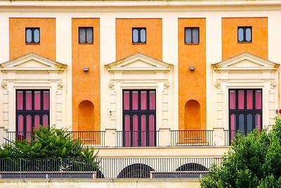 Windows, Rome, Italy