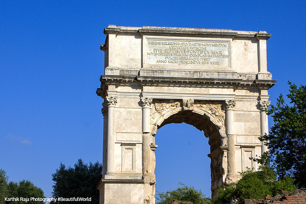 Arch of Titus, The Roman Forum, Rome, Italy