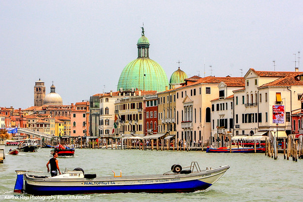 Grand Canal - Venice, Italy