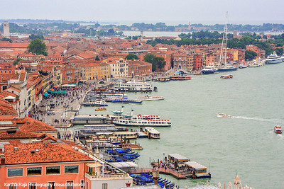 Bay of Venice near St. Mark's Square, Venice, Italy