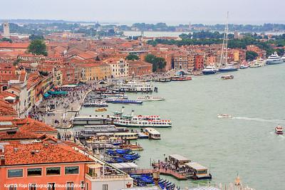 Bay of Venice near St. Mark's Square, Venice, Italy