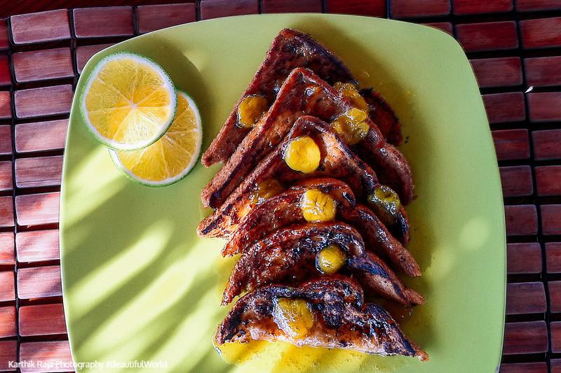 French Toast, Catcha Falling Star Resort, Negril, Jamaica