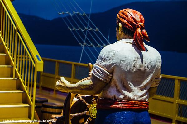 Pirate ship on Lake Ashi, Fuji-Hakone-Izu National Park, Japan