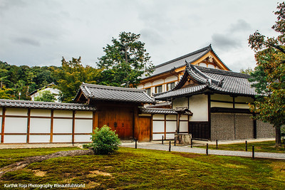 Abbot's chamber, Rokuon-ji Temple, Kinkaku-ji, Kyoto, Japan