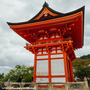 Zenkoji-do Hall, Kiyomizu-dera, Kyoto, Japan