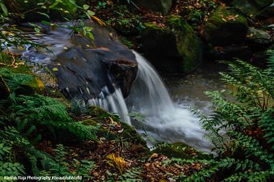 Waterfalls, Naritasan park, Narita, Japan