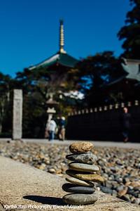 7 stones, Narita-san Shinshō-ji Temple, Narita, Japan