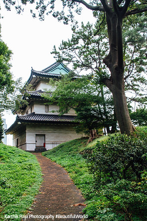 The Fujimi Yagura (A Turret of The Edo Castle),1659, Edo Castle Gardens, Tokyo Imperial Palace, Tokyo, Japan